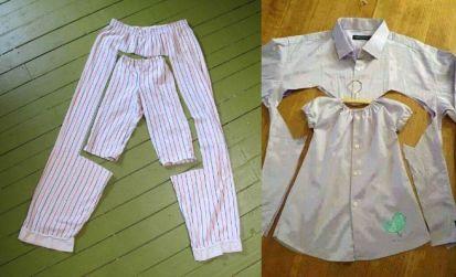 reutilizar ropa como nuevas prendas